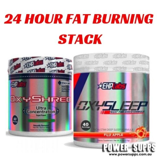 EHPLabs Oxyshred + Oxysleep Stack List flavours in Checkout Notes Oxyshred + Oxywhey