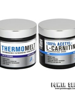 JD Nutraceuticals Thermomelt and Acetyl L-Carnitine Stack Cool lemonade + Unflavour Carnitine 30 Serves + 75 Serves