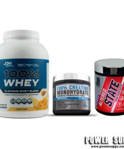 JD Nutraceuticals Muscle Gain Stack Please select flavours and leave in notes at checkout Protein + Altered State + Creatine