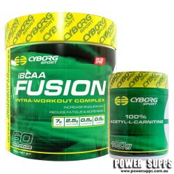 Cyborg Sport Fusion iBCAA + Acetyl L-Carnitine Sweet Passionfruit 50 Serves