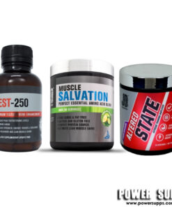 JD Nutraceuticals Ultimate Male Stack Please select flavours and leave in notes at checkout Test 250 + Salvation + Altered State