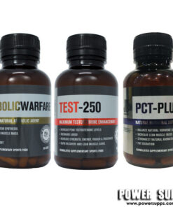 JD Nutraceuticals SUPER CAPSULE STACK Unflavoured Test 250 + PCT Plus + Anabolic Warfare