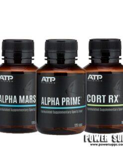 ATP Science ALPHA MARS + ALPHA PRIME + CORT RX STACK  Mars + Prime + Cort Rx