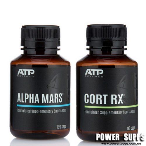 ATP Science ALPHA MARS + CORT RX STACK  Mars + Cort Rx