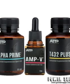 ATP Science ALPHA PRIME + T432 PLUS + AMP-V STACK  Prime + T432 PLUS + Amp-V