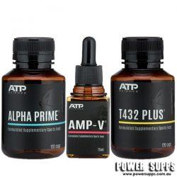 ATP Science ALPHA PRIME + T432 PLUS + AMP-V STACK  Prime + T432 PLUS + Amp-V