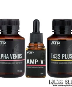 ATP Science ALPHA VENUS + T432 PLUS + AMP-V STACK  Venus + T432 Plus + Amp-V