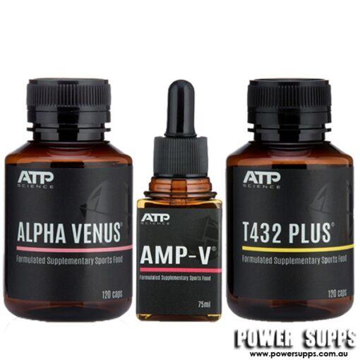ATP Science ALPHA VENUS + T432 PLUS + AMP-V STACK  Venus + T432 Plus + Amp-V
