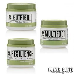 ATP Science MULTIFOOD + GUTRIGHT + RESILIENCE STACK  Multifood + Gutright + Resielence