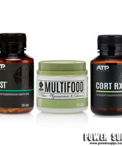 ATP Science MULTIFOOD + CORT RX + ZMST  Multifood + Cort RX + ZMST