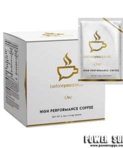 Before you Speak High Performance Coffee Caramel 30 Serve Box