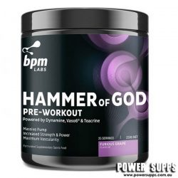 BPM Labs Hammer of God Smashed Berry 25/50 Serves