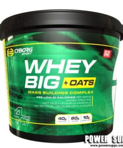Cyborg Sport Whey Big+ OATS Banana 4kg