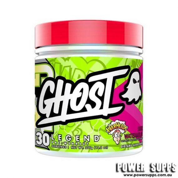 Ghost Legend Pre Workout Sour Green Apple 30 Serves