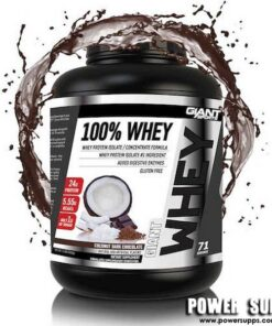 Giant Sports 100% Whey Double Chocolate 5lb