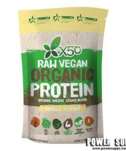 Green Tea X50 Raw Vegan Organic Protein Vanilla 1kg