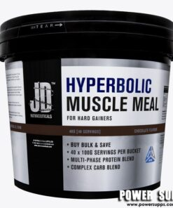 JD Nutraceuticals Hyperbolic Muscle Meal Strawberry 4 kg