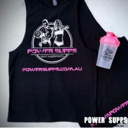 Power Supps Muscle Singlets PINK  Medium