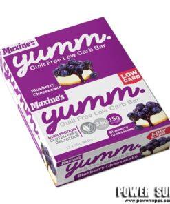 Maxine's YUMM Bars BOX Choc Peanut Butter 12 × 40g bars