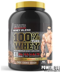 MAXS 100% Whey Banana Cream Pie 2.27kg (75 Serves)