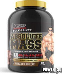 MAXS Absolute MASS Vanilla Ice Cream 12lb