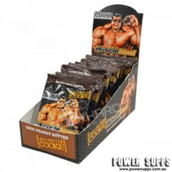 MAXS Muscle Meal Cookies Choc Peanut Butter 12?90g Cookies