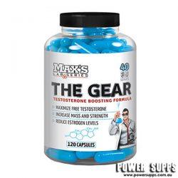 MAXS THE GEAR  120 caps