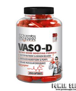 MAXS VASO-D  120 caps