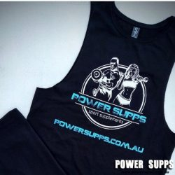 Power Supps Muscle Singlet BLUE  XX Large