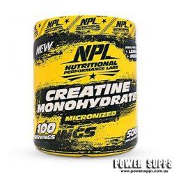 NPL Creatine Monohydrate 500g  100 Serves