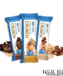 Optimum Nutrition Protein CRUNCH Bars BOX Toffee & Pretzel 12 x 57g Bars