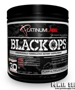 Platinum Labs Black Ops Unflavoured 30 Serves
