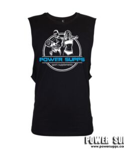 Power Supps Muscle Singlet Pink Small