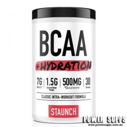 Staunch Nation BCAA + HYDRATION Pineapple 30 Serves