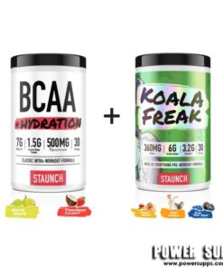 Staunch Nation KOALA FREAK + BCAA List Flavours at Checkout 30 + 30