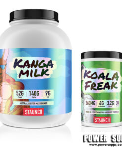 Staunch Nation Kango Milk + Koala Freak List Flavours at Checkout 6lb + 30 Serves