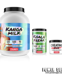 Staunch Nation Kango Milk + Koala Freak+ Creatine List Flavours at Checkout 6lb + 30 + 30 Serves