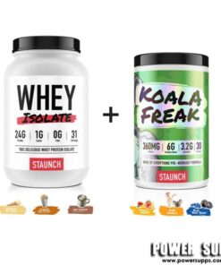 Staunch Nation WPI + KOALA FREAK List Flavours at Checkout 30 + 30