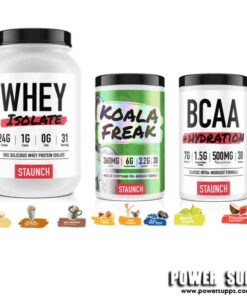 Staunch Nation WPI + KOALA FREAK + BCAA List Flavours at Checkout 30 + 30 + 30