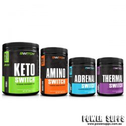 Switch Nutrition KETO + AMINO + THERMAL + ADRENAL STACK  40 + 30 + 40 + 30 serves