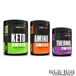 Switch Nutrition KETO +AMINO + THERMAL STACK  40 + 30 + 40 serves