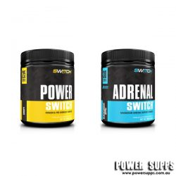 Switch Nutrition POWER + ADRENAL STACK  50 + 30 serves
