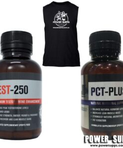 JD Nutraceuticals Test 250 + PCT + Singlet Stack Please List Singlet Size in Notes section at checkout Test 250 + PCT + Singlet