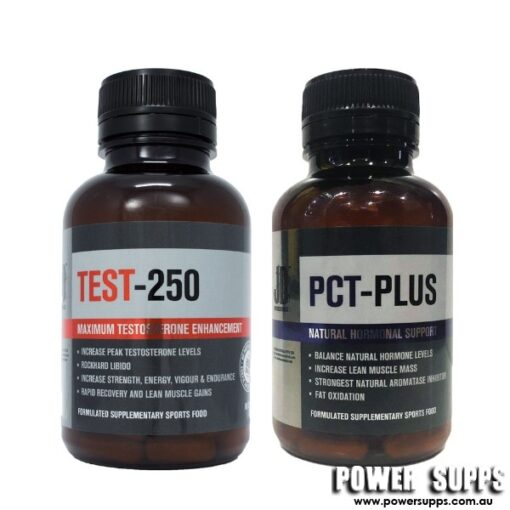 JD Nutraceuticals Test 250 + PCT Plus Stack Unflavoured Test 250 + PCT PLUS
