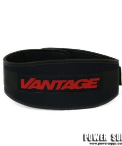 Vantage Strength Ladies Neoprene Belt Black/Pink Small