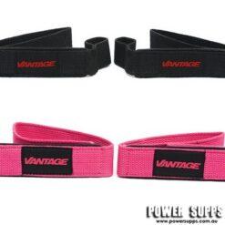 Vantage Srength Single Tail Lifting Straps Pink Single Tail