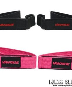 Vantage Srength Single Tail Lifting Straps Pink Single Tail
