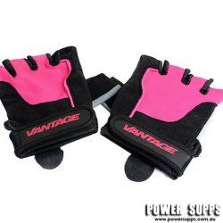 Vantage Strength Women's Gloves Black/Pink Medium