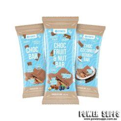 Vitawerx CHOCOLATE PROTEIN BAR BOX Choc Quinoa Puff 12 x 35g Bars