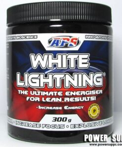 APS White Lightning Strawberry Kiwi 60 Serves